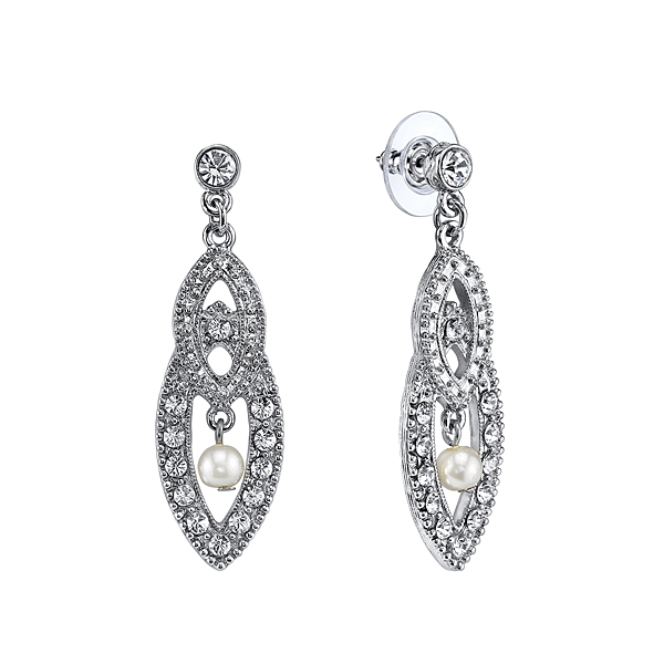 Amore Interwoven Bridal Earrings