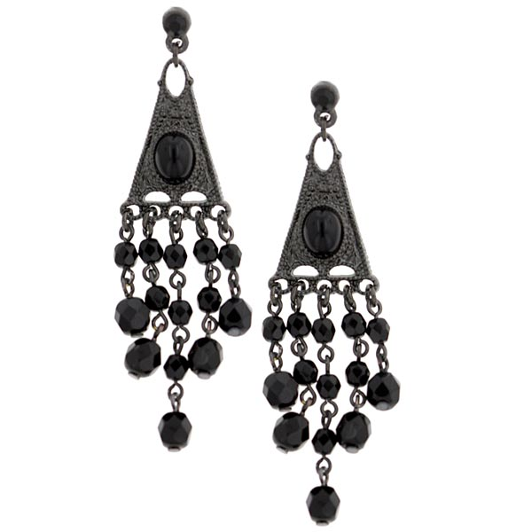 2028 Bonne Nuit Decadent Chandelier Earrings $38.00 AT vintagedancer.com